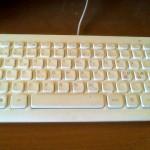 Mitt tagnentbord direkt efter Cyber Clean
